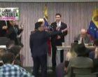 В Вашингтоне активисты прервали выступление представители Хуана Гуайдо